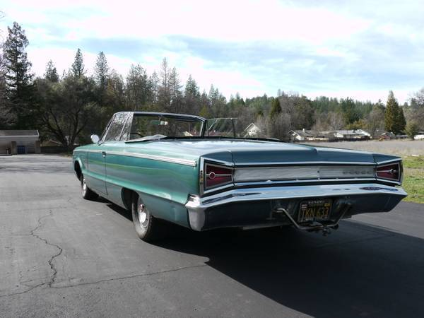 For Sale - (Craigslist): 1965 Dodge Custom 880 Convertible ...