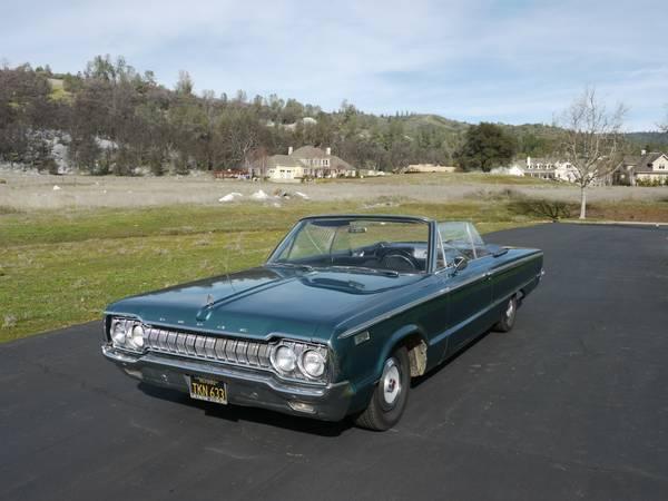 For sale craigslist 1965 dodge custom 880 convertible for c bodies only classic mopar forum