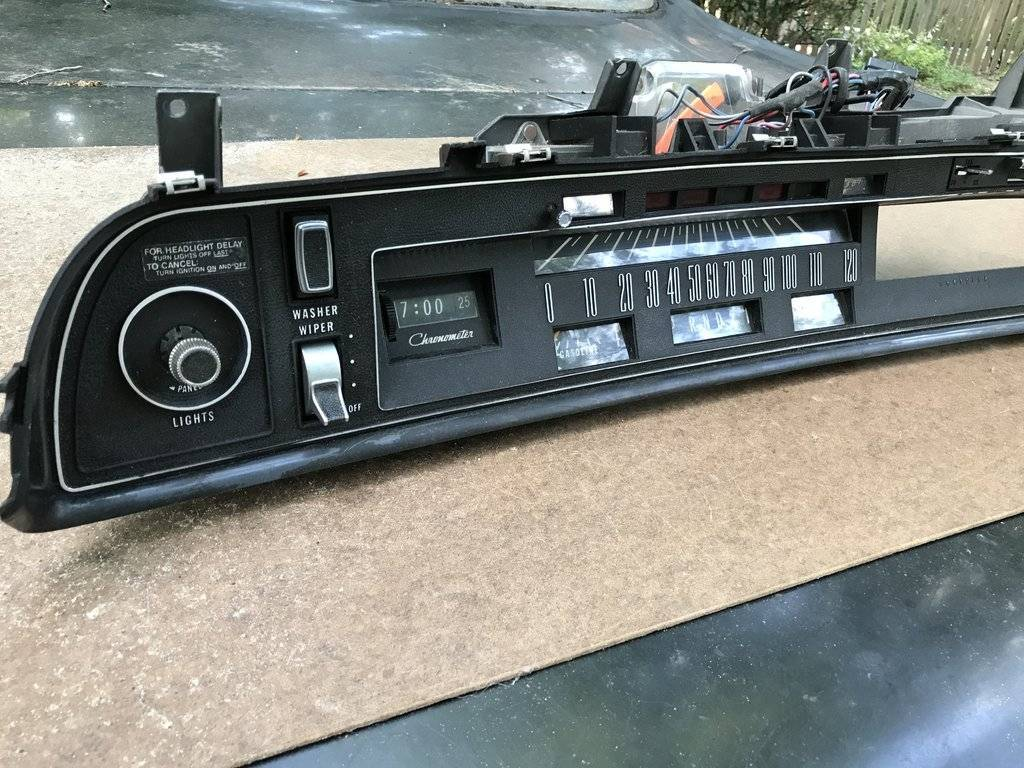 SOLD - Dash Cluster 1973 Chrysler New Yorker | For C ...