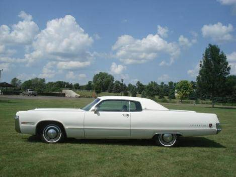 For Sale 1973 Chrysler Imperial Lebaron Coup 233 10 950