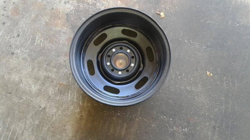 Sold 15 X 8 Inch Police Wheels For C Bodies Only
