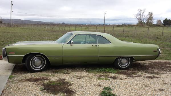 What To Do With Old Car Seats >> For Sale - 1971 Chrysler Newport - $8000 | For C Bodies ...