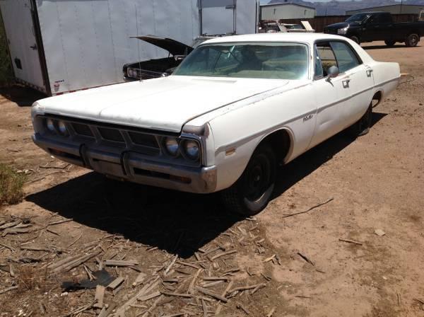 Craiglist Phoenix Az >> For Sale - 1969 Dodge Polara 4 door hardtop - $1400 | For ...