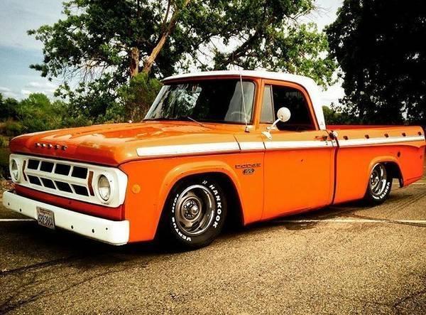 Yuba City Dodge >> For Sale - 1968 Dodge D100 Sweptline Awesome Custom Truck ...
