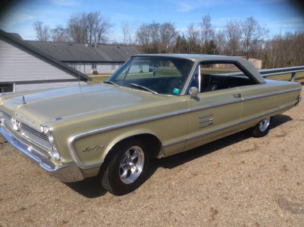 For Sale - 1966 Plymouth Fury Sport - $13500 | For C Bodies