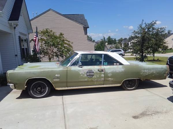 For Sale - 1968 Plymouth Sport Fury '68 - $2500 (Craigslist) | For C