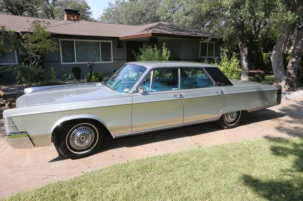 For Sale - 1967 Chrysler New Yorker with 49,500 miles - $15000