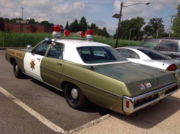 For Sale 1970 Dodge Polara Police Car 6500 New