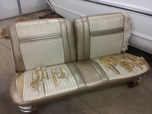 For Sale - Power split bench seat out of old mopar 1965 fury