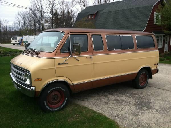 For Sale - '77 Dodge Tradesman van FS WI. Craigs | For C ...
