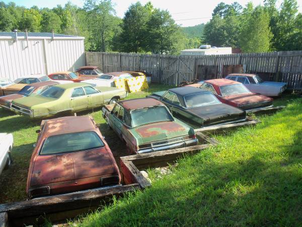 For Sale - A, B, C body cars/parts stash - GA | For C Bodies Only