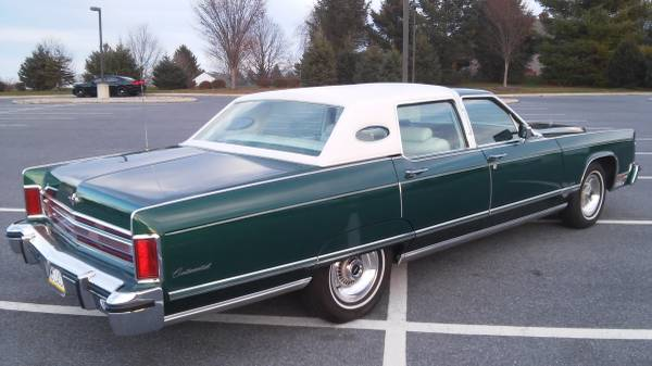For Sale 1976 Lincoln Town Car 12500 For C Bodies Only