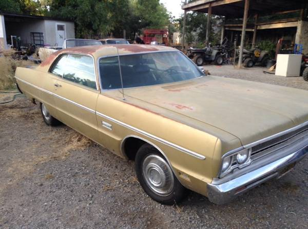 Craigslist Com Sacramento >> For Sale - 1969 Plymouth Fury III 2-Door Formal Hardtop | For C Bodies Only Classic Mopar Forum