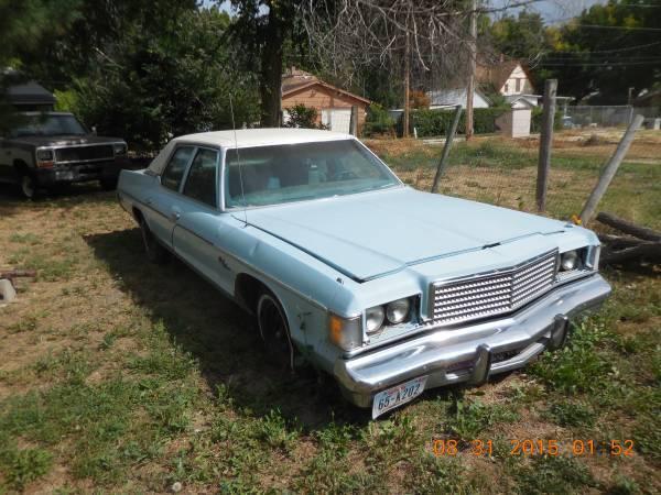 1974 Dodge Monaco For Sale Craigslist >> For Sale - 1974 Dodge Monaco - $1500   For C Bodies Only Classic Mopar Forum