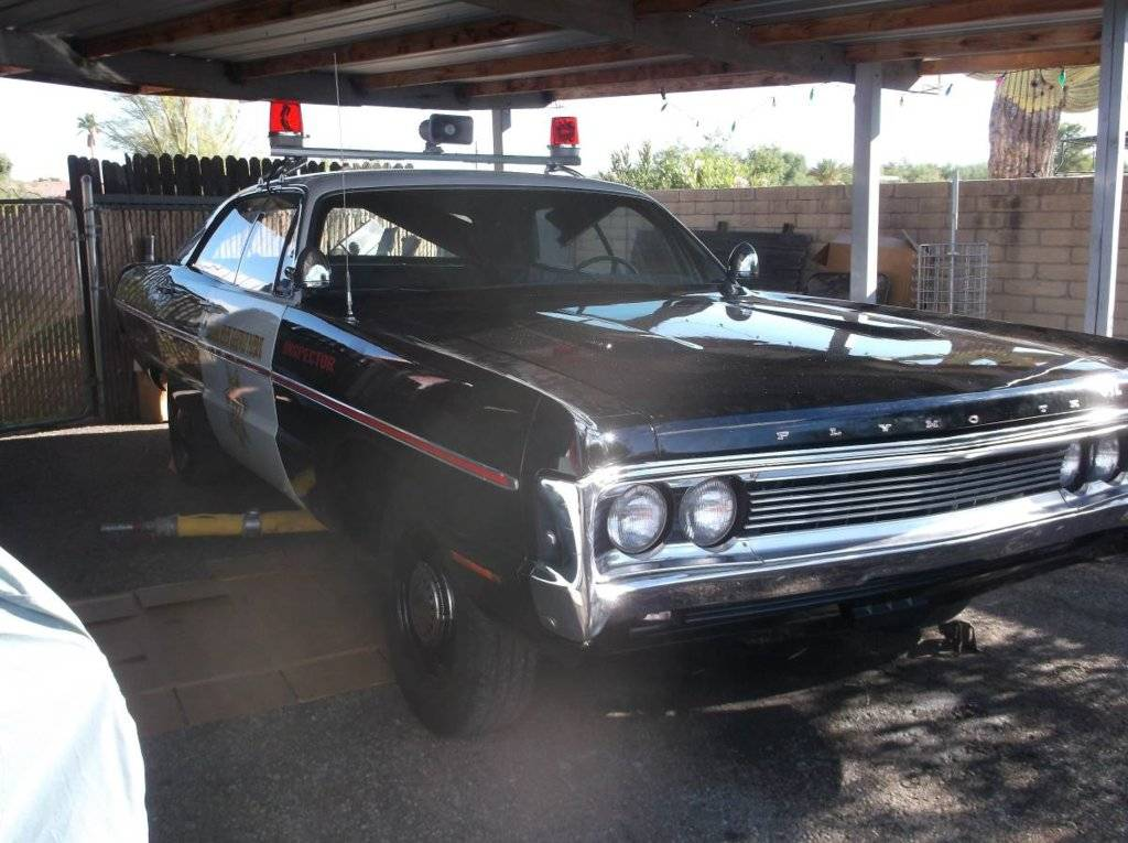Tucson Car Auction >> For Sale - 1970 Fury lll clone police car - $5000 | For C Bodies Only Classic Mopar Forum