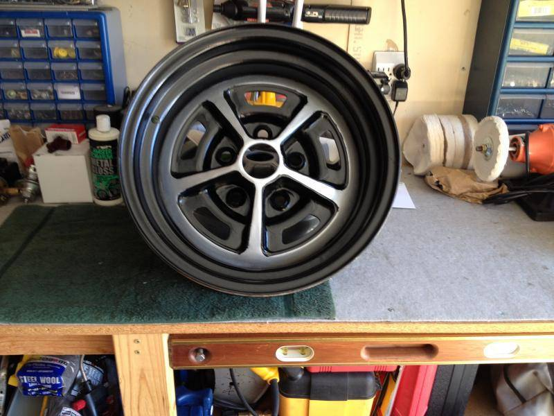 For Sale Magnum 500 Road Wheels No Trim Rings For C
