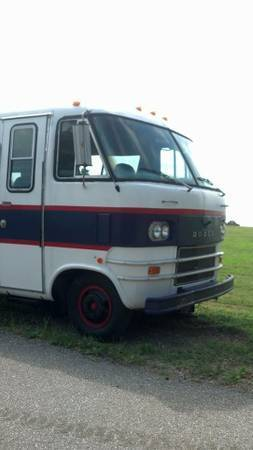 1968 Dodge Travco motorhome - $4500 | For C Bodies Only