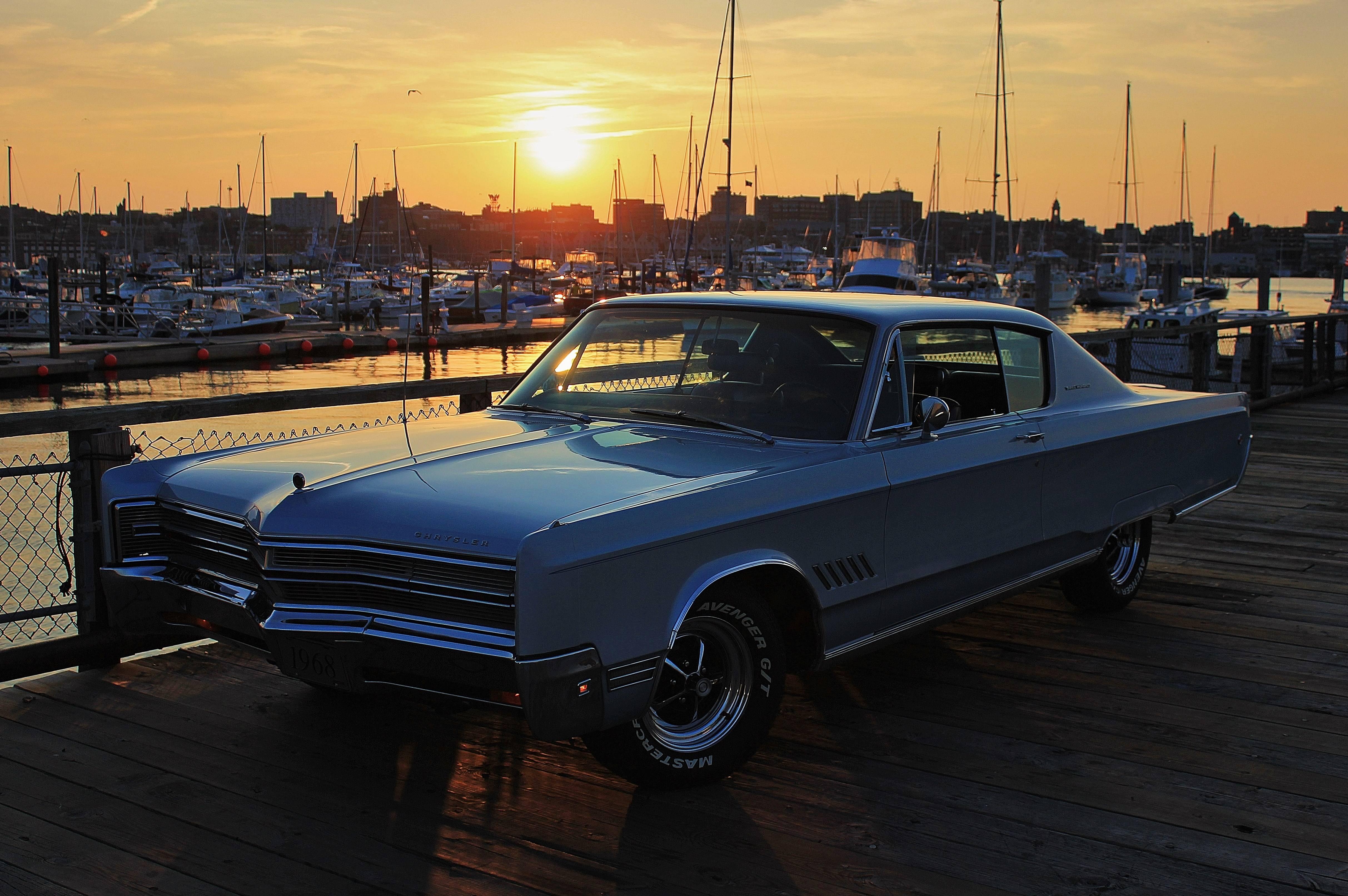 1968 Chrysler 300 sunset.JPG