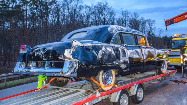 Eisenhower Cadillac damaged in accident | For C Bodies Only Classic ...