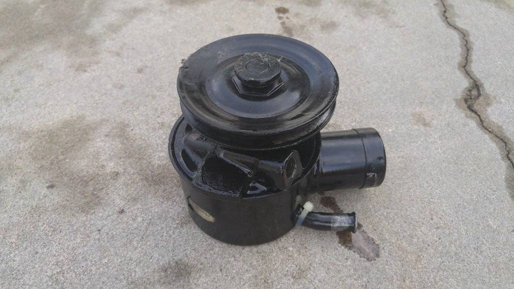 For Sale - TRW P S  Pumps, Cap, Pulley, and Bracket | For C Bodies