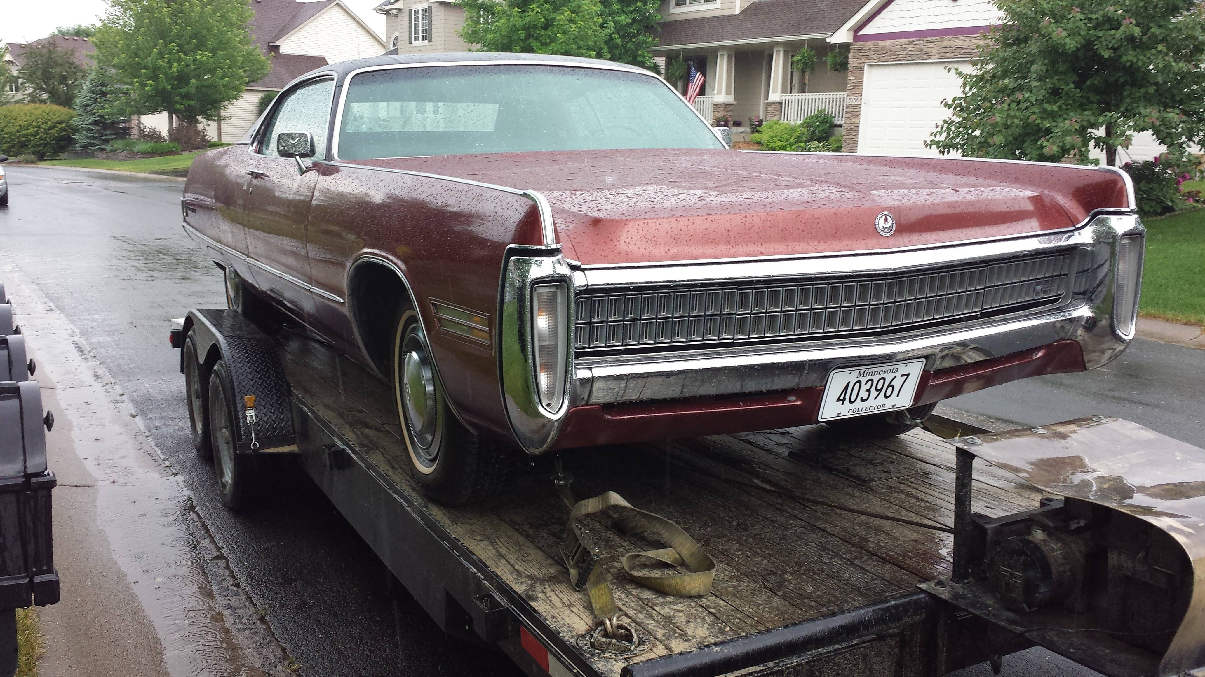 1972 Imperial Lebaron Coupe