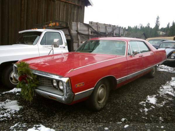 1970 Chrysler New Yorker 4 Door Hardtop 2300 For C