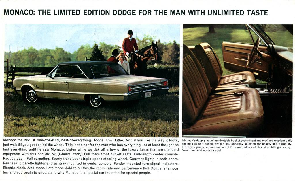 For Sale - 1965 Dodge Monaco 426 Wedge 4-Speed | Page 10