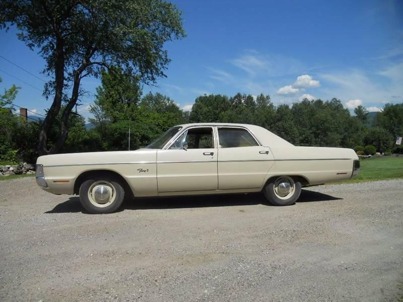 For Sale - 1970 Plymouth Fury II 4 door sedan survivor - 8983 miles ...