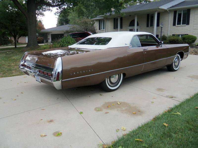 For Sale - Another brown 1971 Imperial - FeeBay - This one is ...
