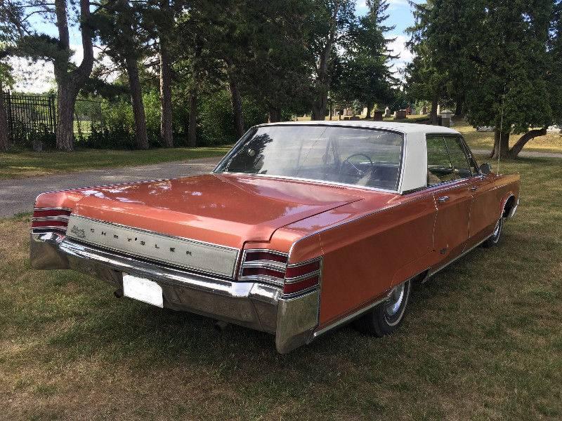 For Sale - Canada prospect #2: \'67 NYer 4 door in Toronto for $6.7k ...