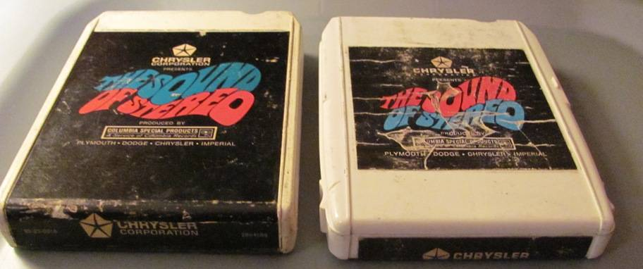 chrysler sound of stereo 8 track tapes.JPG
