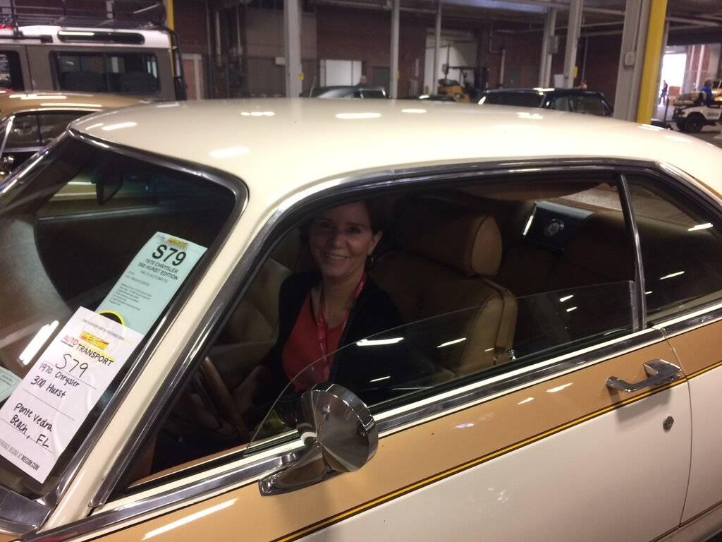 Cindy at the wheel.JPG