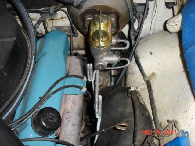 1963 Imperial Single Pot Master Cylinder To Double