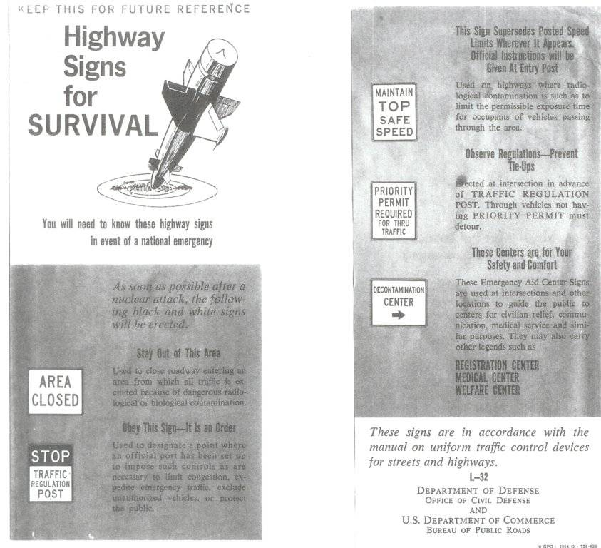 highway signs for survival 1964.jpg