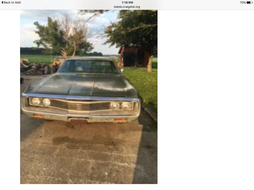For Sale - 1969 Newport | For C Bodies Only Classic Mopar Forum