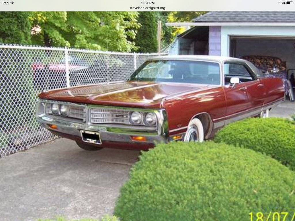 For Sale - 1972 New Yorker | For C Bodies Only Classic Mopar Forum