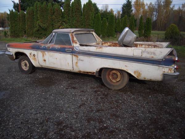 doner carno motor or trans but you have a choice 341 ci hemi desoto or 325ci dodge hemi with trans if wanted serious inq only no text or e mail