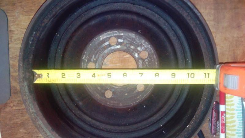 1963 Dodge 880 Custom 2 Door Hard Top Rear Drums | For C