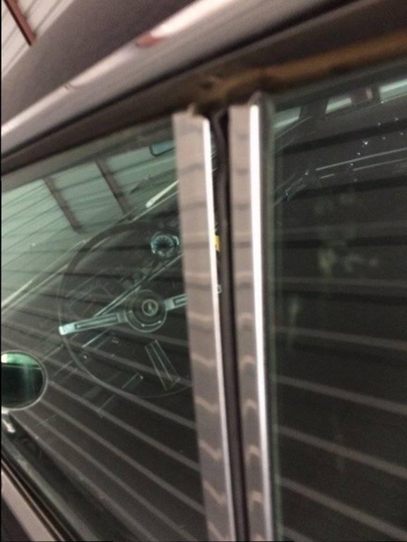 68' Fury III Fast Top- Roll up rear quarter window seal