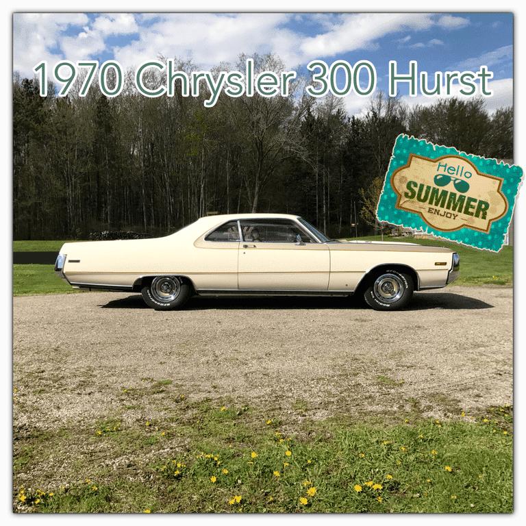 Chrysler C For Sale: 1970 Chrysler 300 Hurst Rotesserie Restored