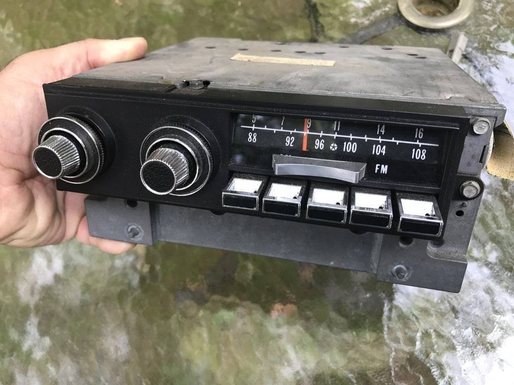 SOLD - 1971-1973 Chrysler AM/FM Radio   For C Bodies Only