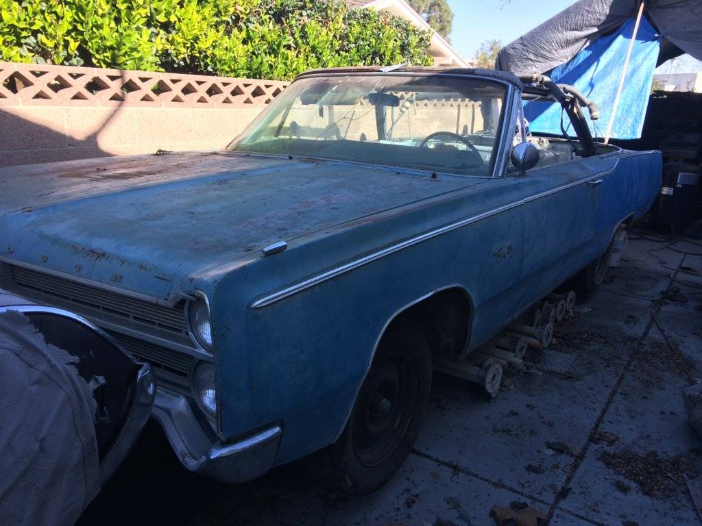 For Sale - 1967 Plymouth Fury Convertible | For C Bodies Only ...