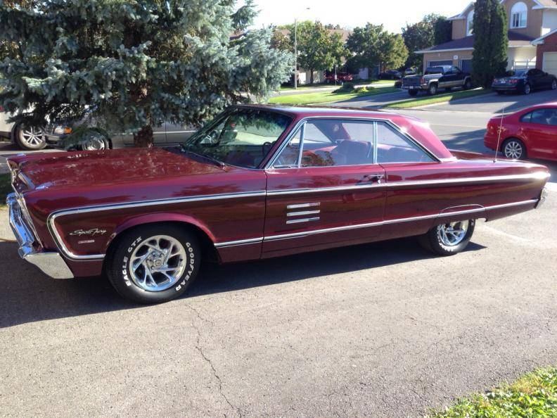 Another 66 Plymouth Sport Fury Owner