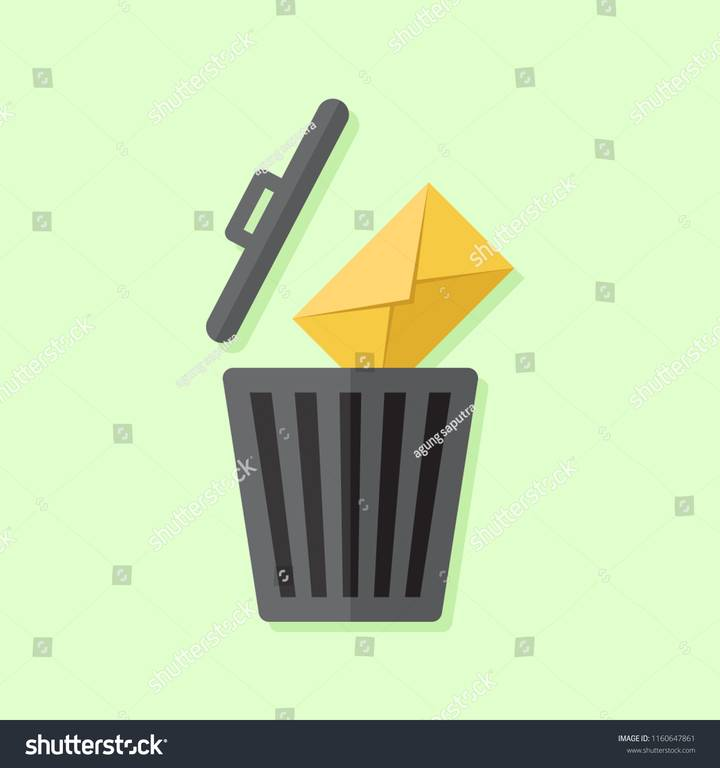 -or-message-trash-icon-and-e-mail-icon-with-green-background-flat-design-illustration-1160647861.jpg
