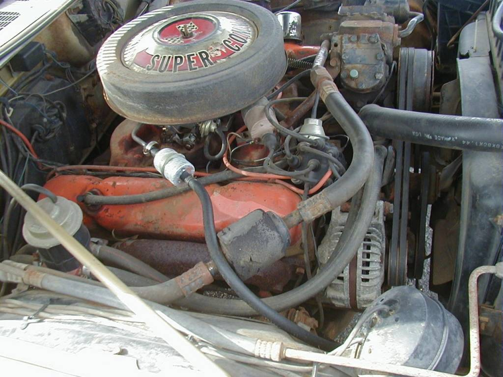 Right Fender View of Engine.JPG