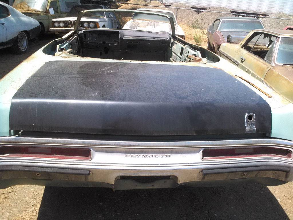 For Sale - 1970 Plymouth Fury III convertible parts car | For C ...