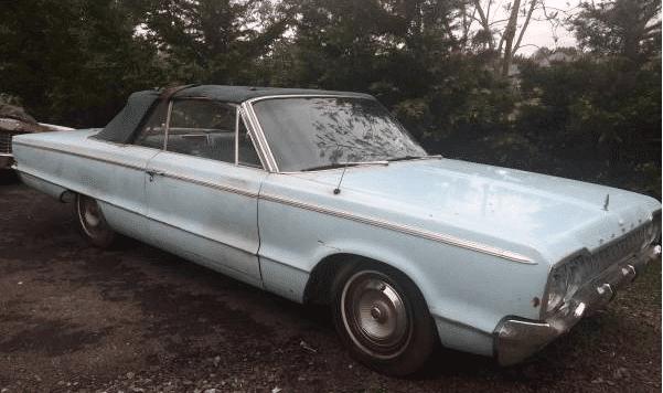 For Sale - 1965 Dodge Polara Convertible $3000 | For C
