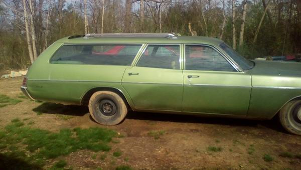 For Sale 1973 Plymouth Fury Custom Suburban Wagon 1800